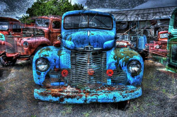 Wall Art - Photograph - 1946 International Harvester Truck by Daniel Hagerman