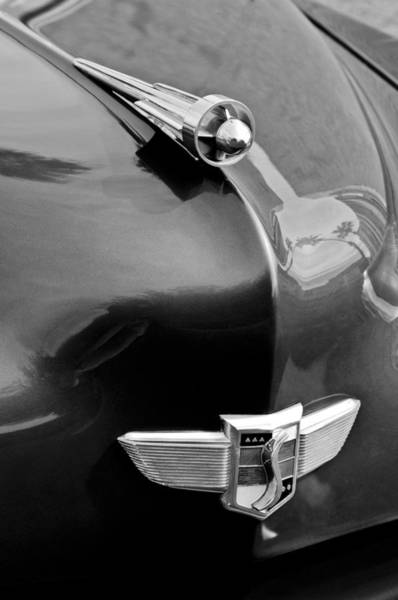 Photograph - 1949 Studebaker Champion Hood Ornament by Jill Reger
