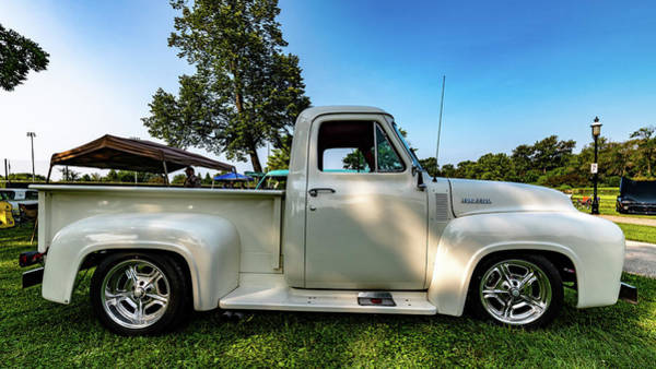 Photograph - 1954 Ford F-100 by Randy Scherkenbach