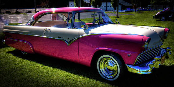 Photograph - 1955 Ford Fairlane Crown Victoria by David Patterson