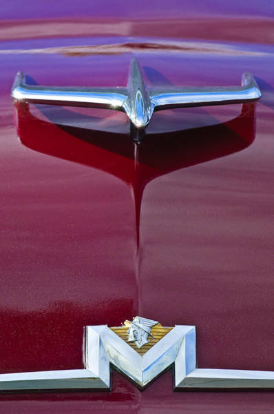 Photograph - 1956 Mercury Hood Ornament by Jill Reger