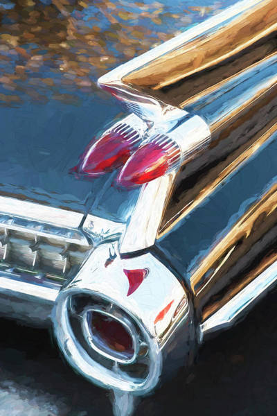 Wall Art - Photograph - 1959 Cadillac Coupe Deville  by Rich Franco