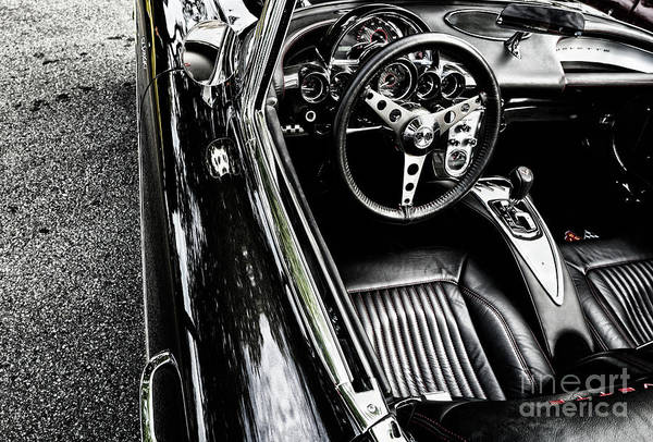 Photograph - 1959 Chevrolet Corvette by M G Whittingham