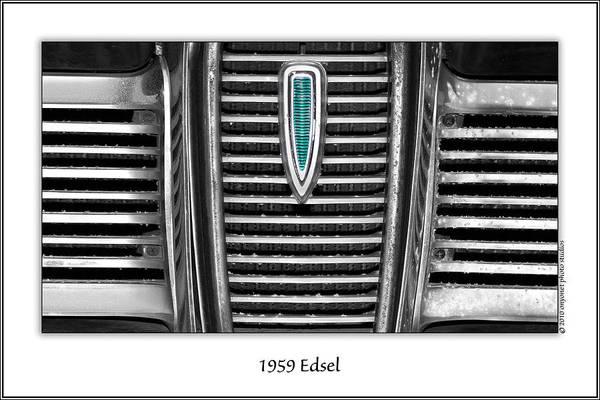 Photograph - 1959 Edsel by  Onyonet  Photo Studios