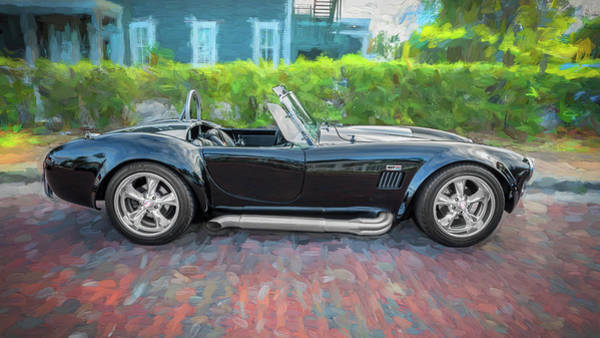 Carroll Shelby Photograph - 1965 Ford Ac Cobra Painted    by Rich Franco