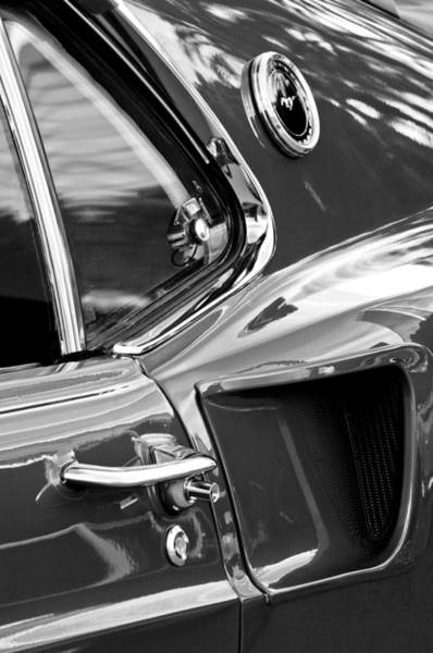 Photograph - 1969 Ford Mustang Mach 1 Side Scoop by Jill Reger