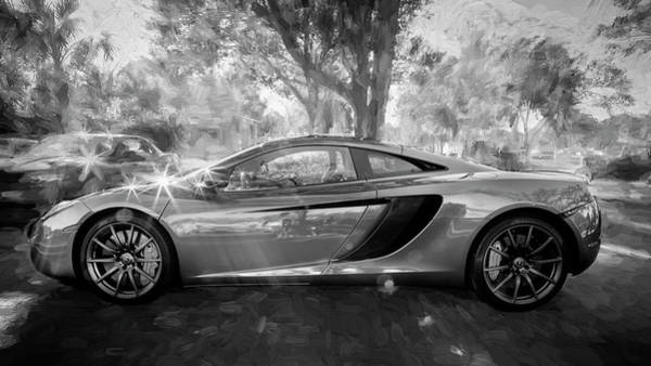 Photograph - 2014 Mclaren Mp4 12c Spider Bw C197  by Rich Franco