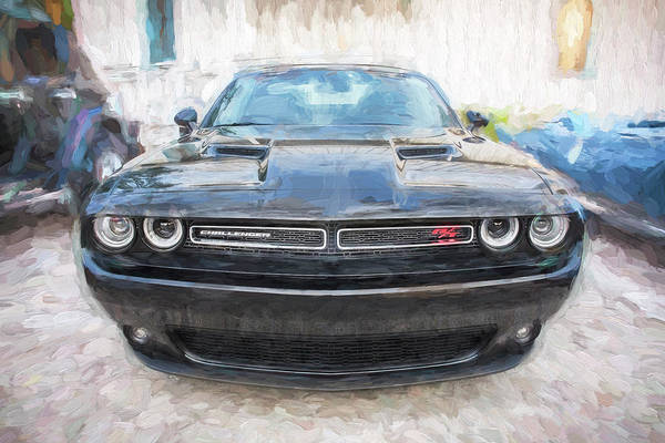 Photograph - 2016 Dodge Challenger R/t  by Rich Franco