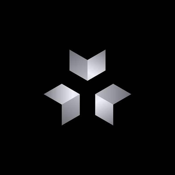 Digital Image Digital Art - 3 Cubes by Pelo Blanco Photo