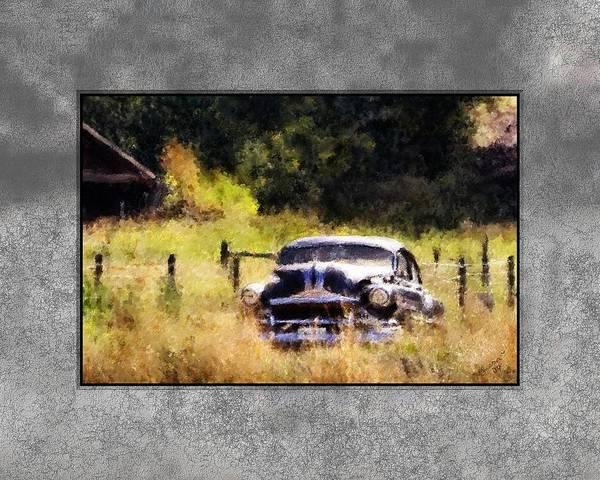 Painting - 53 Pontiac by Susan Kinney