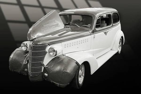Photograph - 5515.52 1938 Chevrolet Sedan by M K Miller