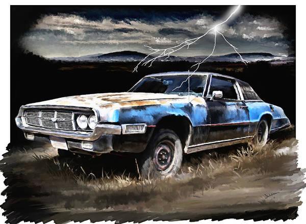 Painting - 69 Thunderbird by Susan Kinney