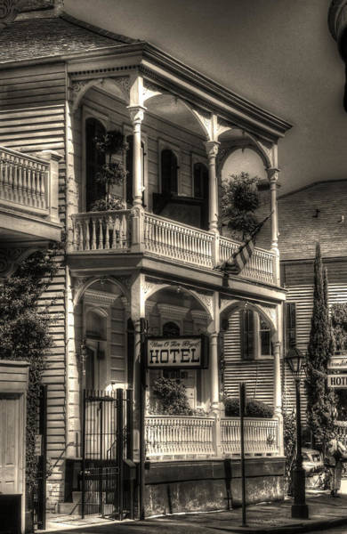New Orleans Photograph - 905 Royal Hotel by Greg and Chrystal Mimbs