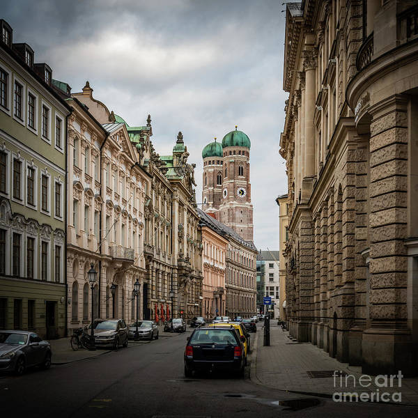 Photograph - A Beautiful Look At The Frauenkirche by Hannes Cmarits