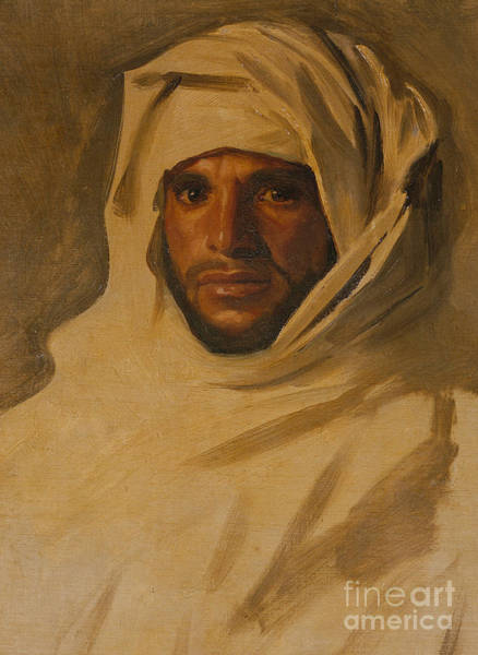 Wall Art - Painting - A Bedouin Arab by John Singer Sargent