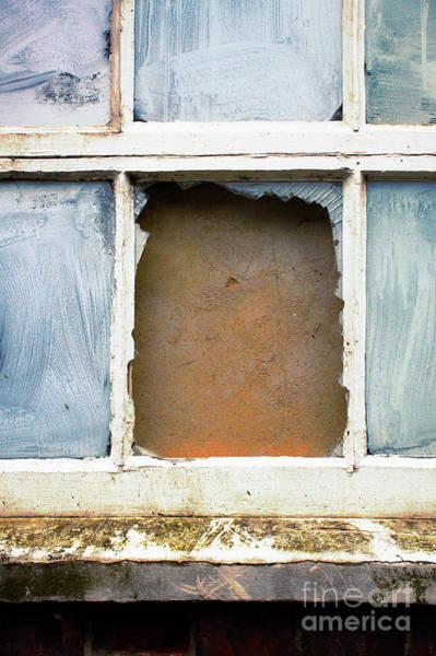 Wall Art - Photograph - A Broken Window by Tom Gowanlock