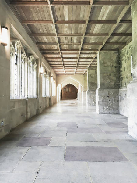 Wall Art - Photograph - A Cathedral Corridor by Tom Gowanlock