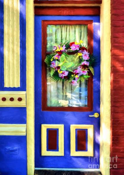 Photograph - A Door Of Many Colors # 2 by Mel Steinhauer