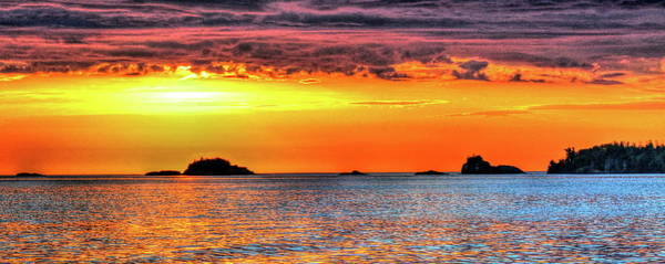 Photograph - A Glorious Morning On Lake Superior #2 by Don Mercer