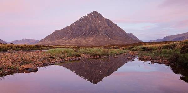 Photograph - A New Dawn In Glencoe by Stephen Taylor