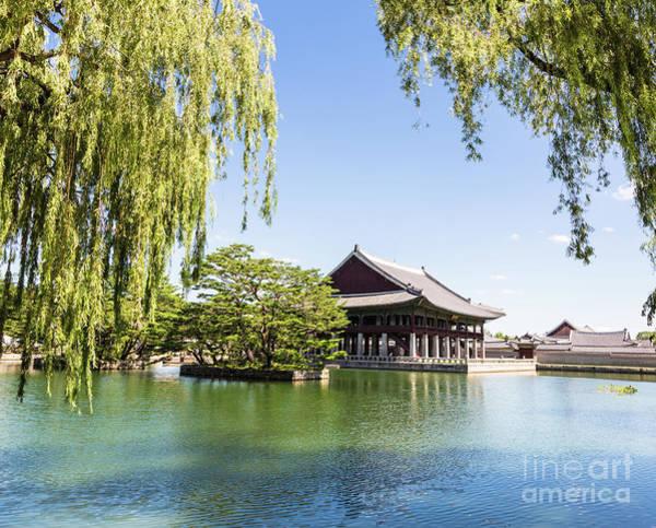 Photograph - A Pagoda In Gyeongbokgung Palace, Seoul  by Didier Marti