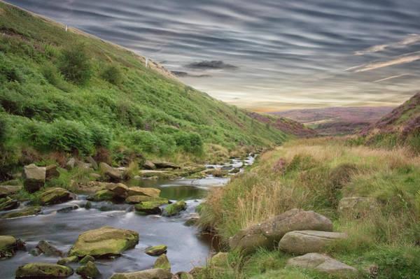 Peak District National Park Photograph - A Peak District View by Martin Newman