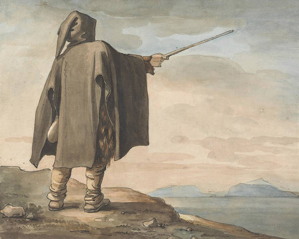 Painting - A Peasant Of Mount Erix by Henry Tresham