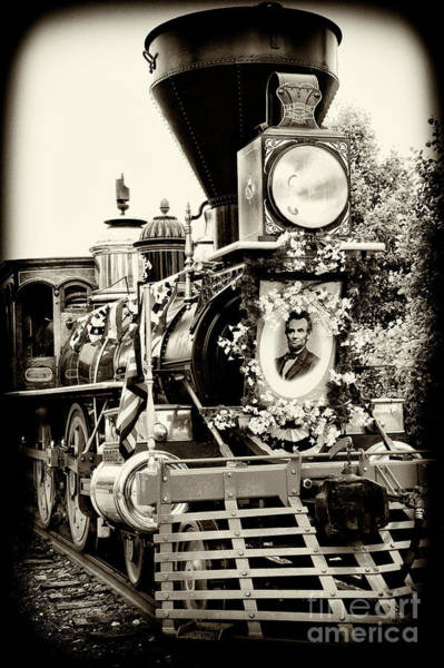 Wall Art - Photograph - A President's Funeral Train - 3378-b by Paul W Faust - Impressions of Light