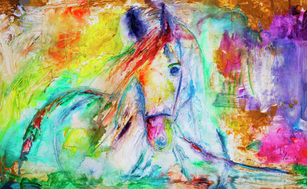Wall Art - Painting - A Special Friend by Ivan Guaderrama