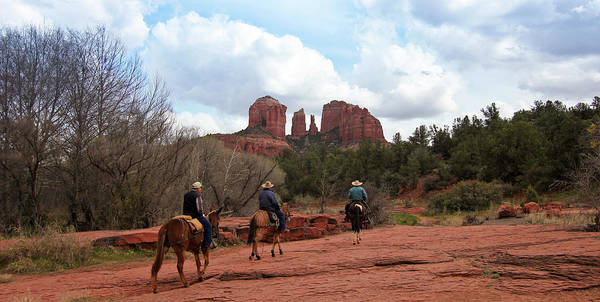 Wall Art - Photograph - A View Of Sedona's Famous Cathedral Rock by Derrick Neill