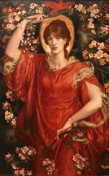 Painting - A Vision Of Fiammetta by Dante Gabriel Rossetti
