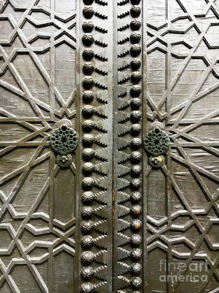 Wall Art - Photograph - A Wooden Door by Tom Gowanlock
