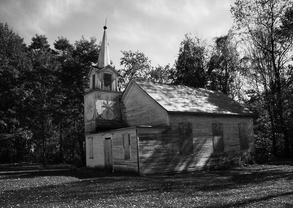 Photograph - Abandoned Church by Pat Moore