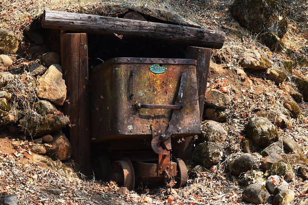 Photograph - Abandoned Gold Mine by Frank Wilson