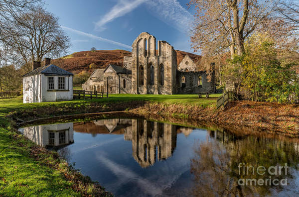 Abbey Photograph - Abbey Reflection by Adrian Evans