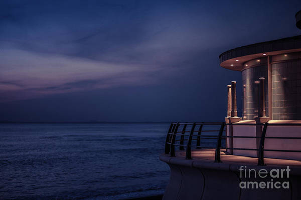 Photograph - Aberystwyth Bandstand At Twilight by Keith Morris