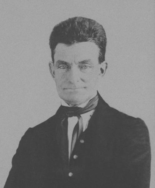 Slavery Photograph - Abolitionist John Brown - Two by War Is Hell Store