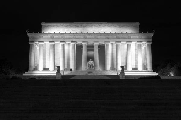 Photograph - Abraham Lincoln Monument by Mihai Andritoiu