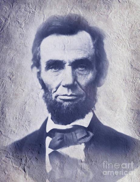 Us Civil War Digital Art - Abraham Lincoln. by Prar Kulasekara
