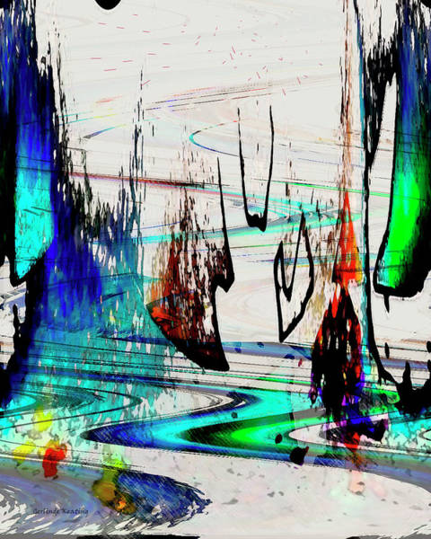 Painting - Abstract 1001 by Gerlinde Keating - Galleria GK Keating Associates Inc