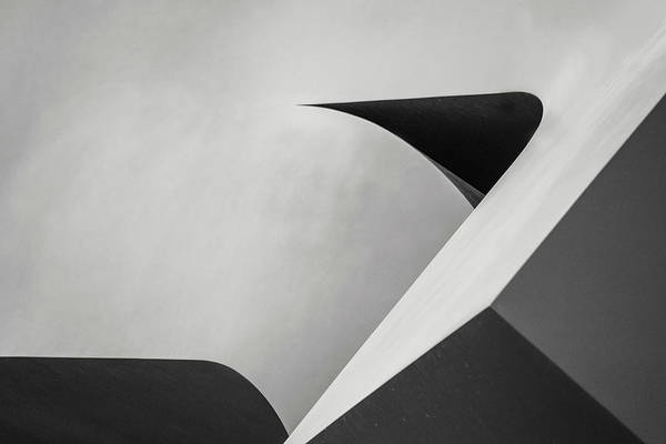 Don Johnson Photograph - Abstract In Black And White by Don Johnson