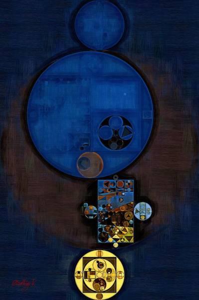 Abstraction Digital Art - Abstract Painting - Confetti by Vitaliy Gladkiy