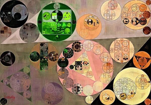 Shadow Digital Art - Abstract Painting - Pancho by Vitaliy Gladkiy