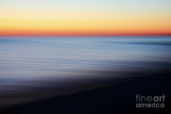 Visual Illusion Wall Art - Photograph - Abstract Sky And Water by Tony Cordoza