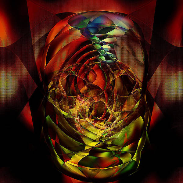 Showpiece Digital Art - Abstract Thoughts by Andy Young
