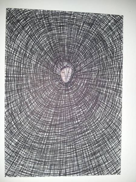 Organic Abstraction Drawing - Abstraction 9 by William Douglas