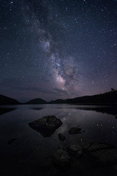 Wall Art - Photograph - Acadia At Night by Robert Fawcett