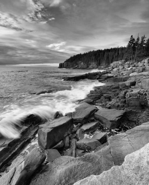 Wall Art - Photograph - Acadia Coastline by Stephen  Vecchiotti