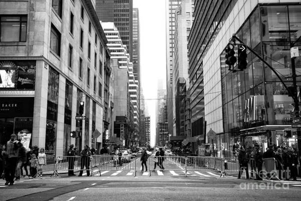 Wall Art - Photograph - Across 5th Avenue In New York by John Rizzuto