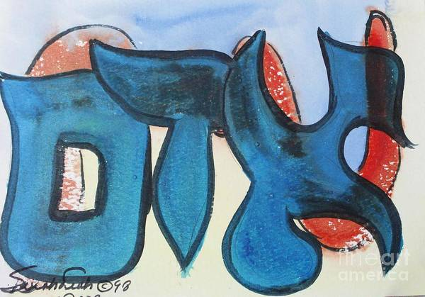Painting - Adam Nm1-13 by Hebrewletters Sl